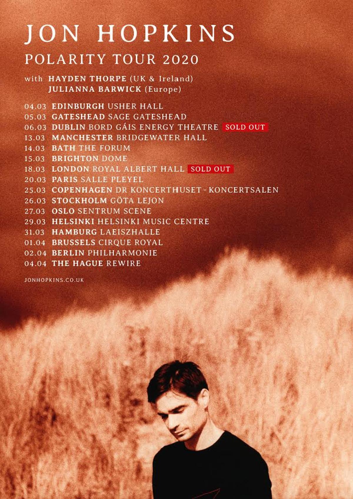 POLARITY tour 2020