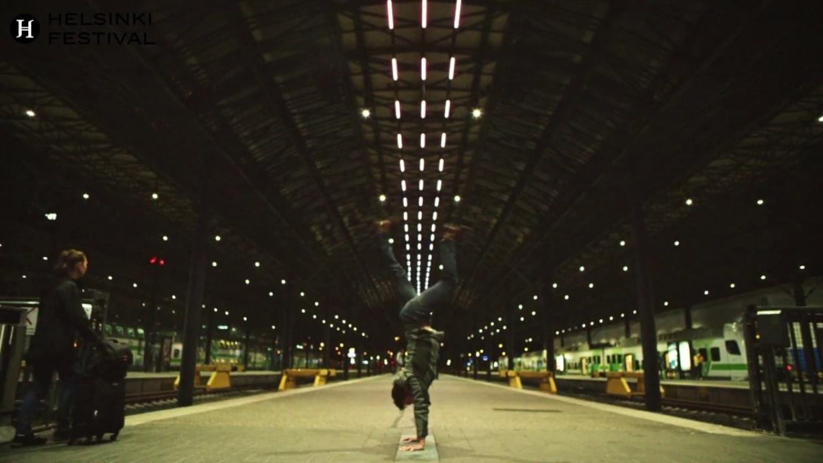 Helsinki Arts Festival sound installation at Grand Central Station with Ville Hyvönen